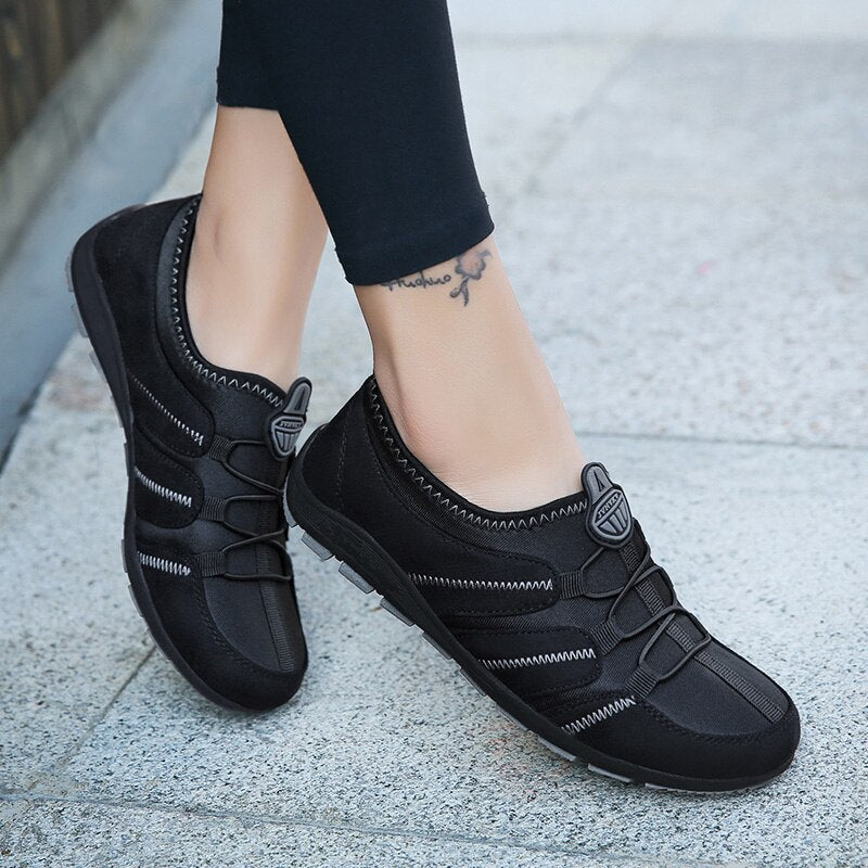 2020 Women Breathable & Non-Slip Sneakers Women Slip-On Outdoor Flats Shoes