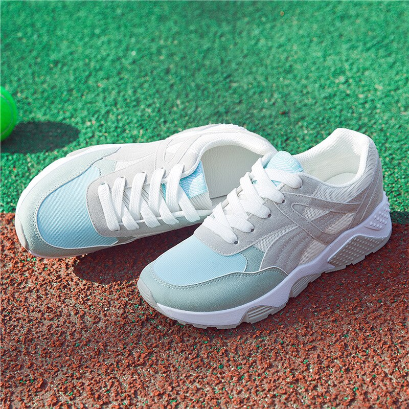 2020 Fashion Female Sneakers Woman Mesh Casual Shoes