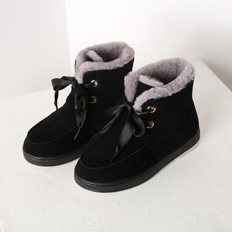2020 New Winter Snow Boots Women High-Quality Thick Fur Warm Ankle Winter Boots