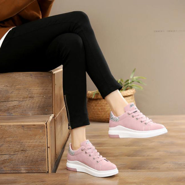 2020 Soft Comfortable Casual Shoes Fashion Lady Flats Sneakers