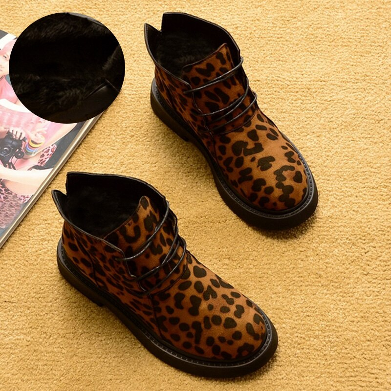 New Autumn/Winter Boots Warm Plush Ankle Boots for Cold Winter