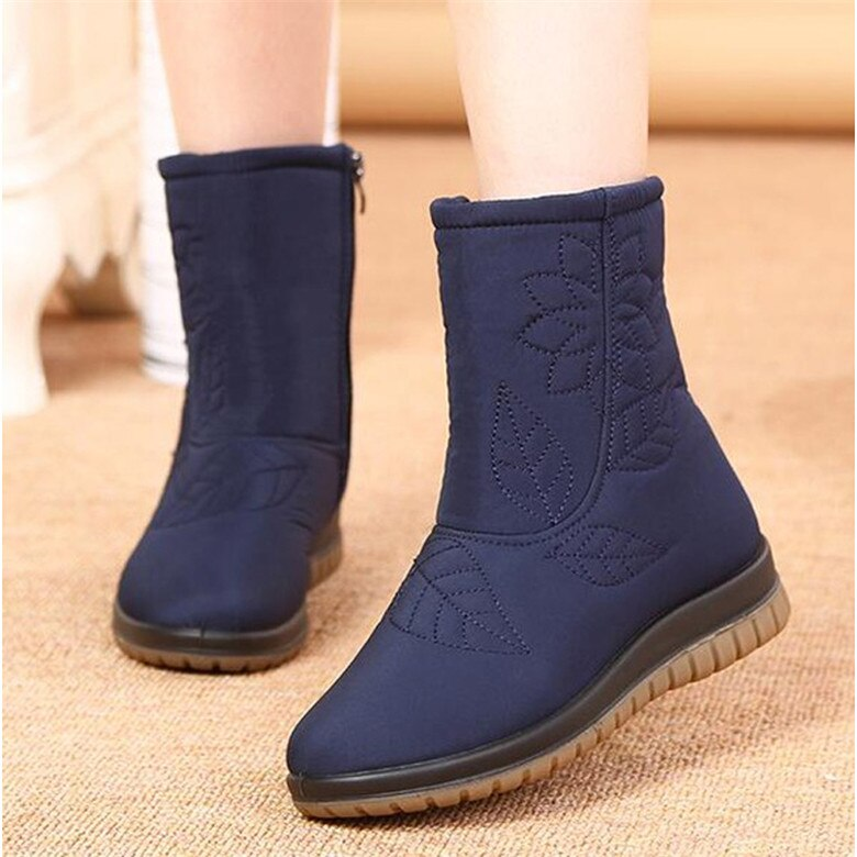 Women Winter Boots High Quality Fur Ankle Boots for Women Waterproof Snow Boot