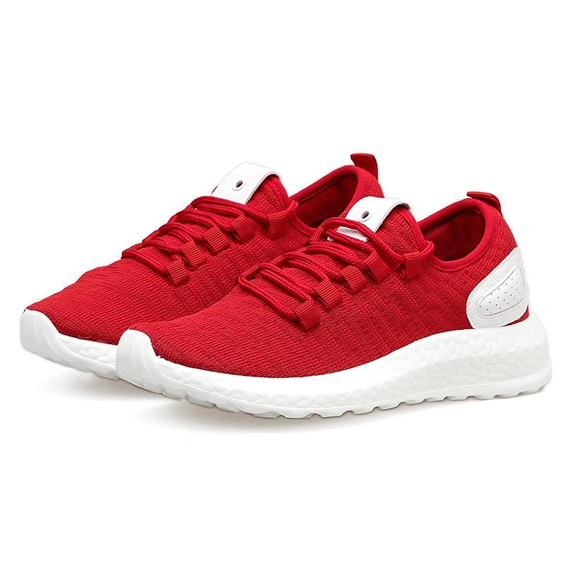 Women/Men Lightweight Sneakers Knit Breathable Women's Trainers Walking Shoes