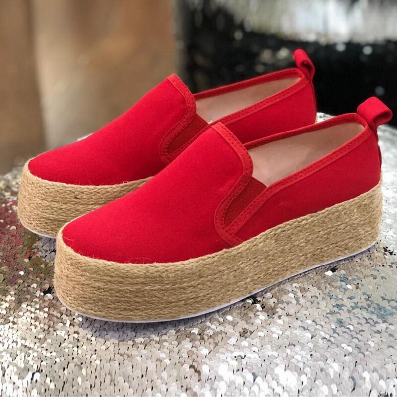 Women Flat Shoes Summer Shoes Solid Thick Bottom Casual Women's Shoes