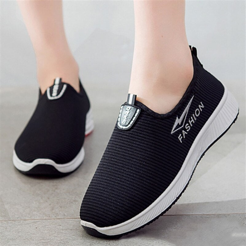 Women Breathable Sneakers Female Lightweight Vulcanize Sneakers
