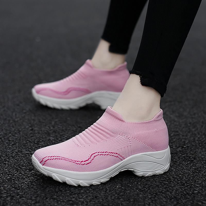 Women Fashion Sports Hiking Shoes