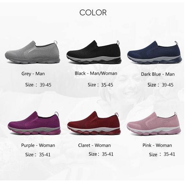 Breathe and Lightweight Sneakers with Soft MD Sole for Men & Women