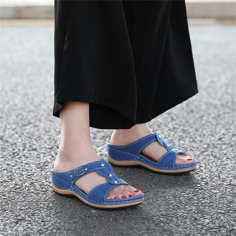 Women Stylish Cross-Lacing Non-Slip Sandals