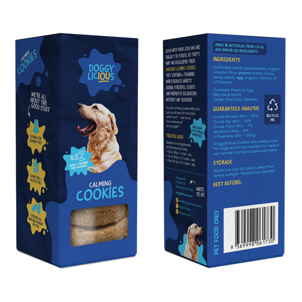Doggylicious Calming Cookies