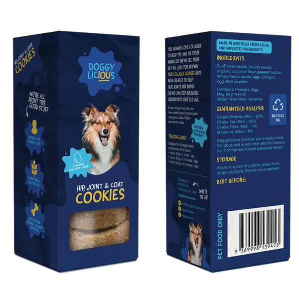 Doggylicious Hip, Joint and Coat Cookies