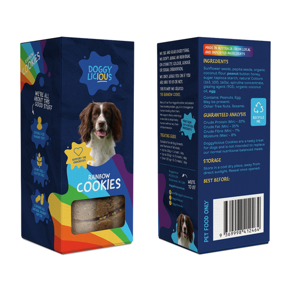 Doggylicious Rainbow Cookies