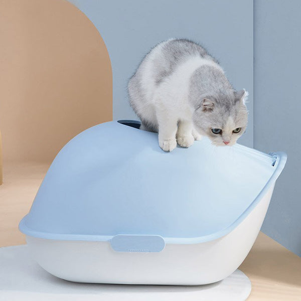 Furrytail Little Whale Cat Litter Box