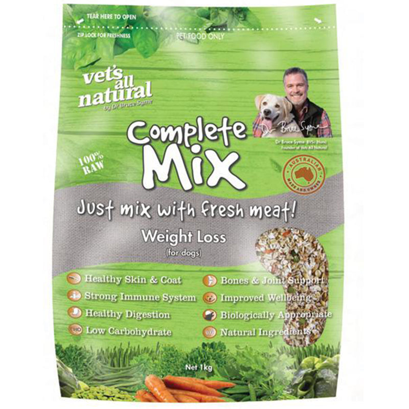 Vets All Natural Complete Mix Weight Loss 1kg