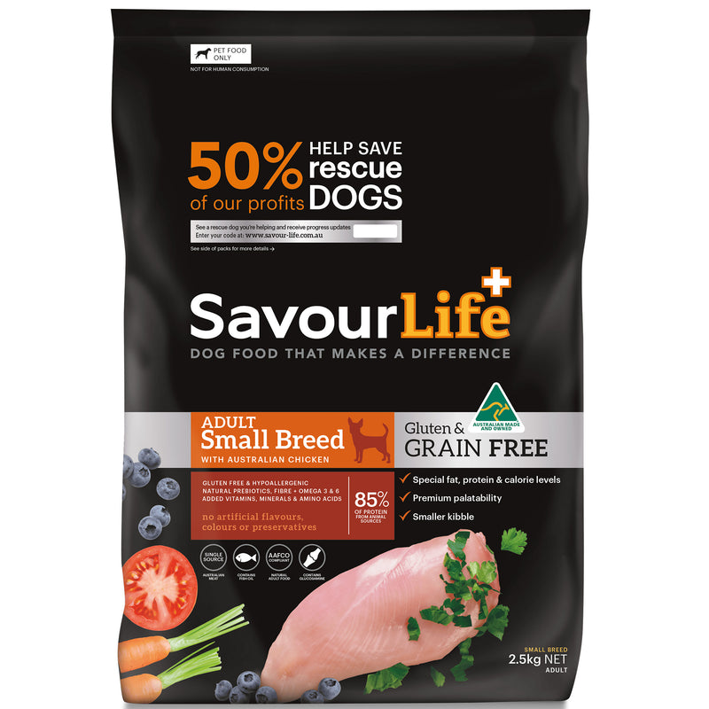 Savourlife Grain-free Small Breed Adult 2.5kg
