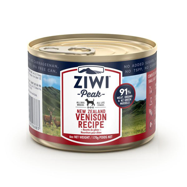 Ziwi Peak Dog Can - 170g Venison