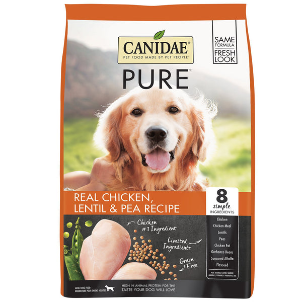 Canidae Dog Pure Ridge Chicken Lentil & Pea 10.88kg