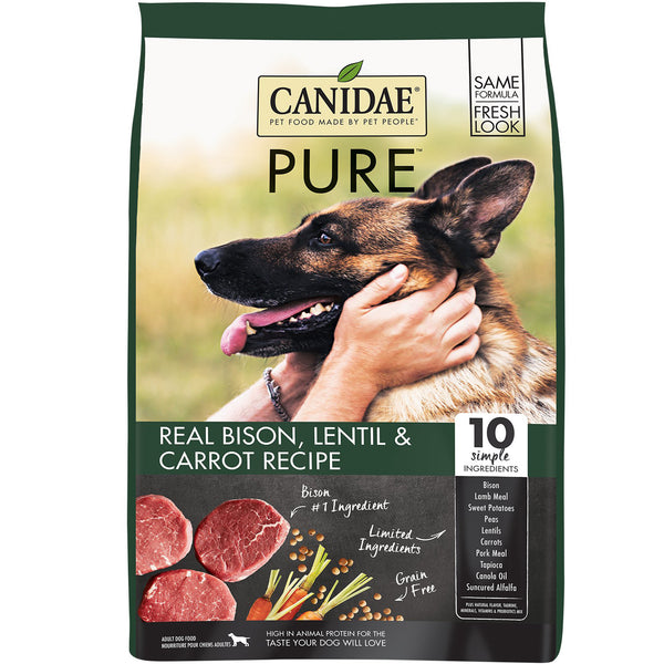 Canidae Dog Pure Land Bison Lentil & Carrot 1.8kg