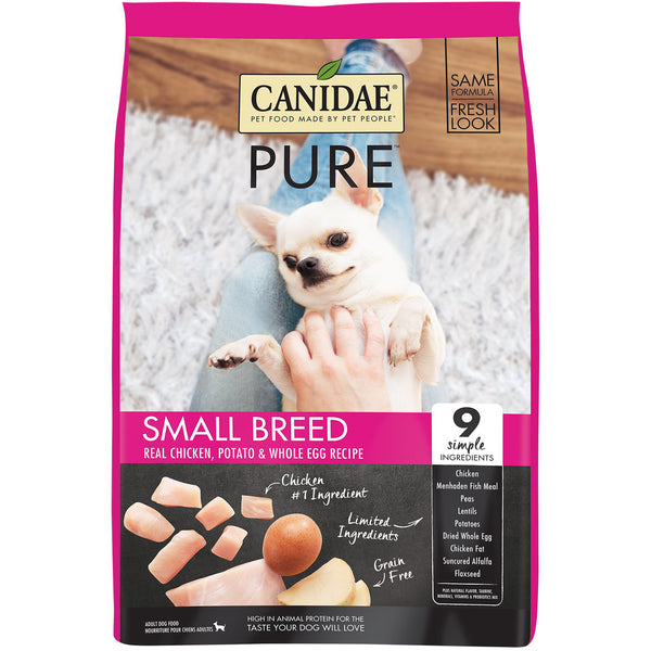Canidae Dog Pure Small Breed Chicken Potato & Egg 1.8kg