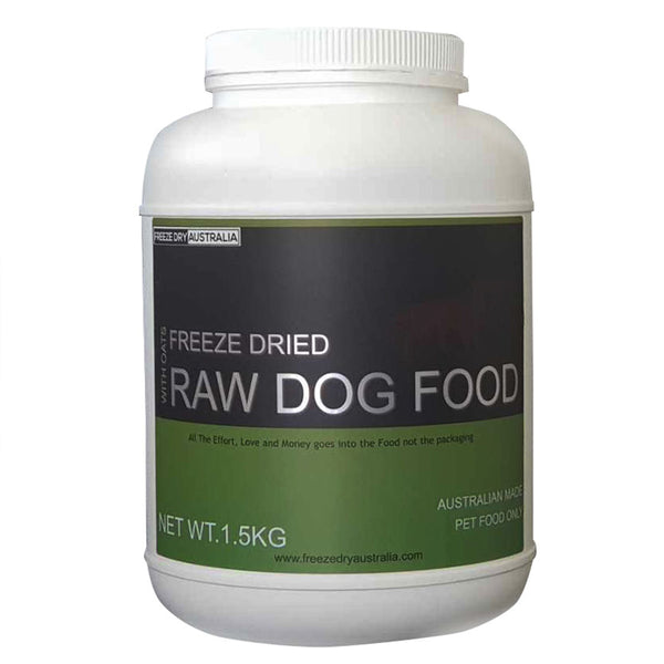 Freeze Dried Raw Food with Oats 1.5kg