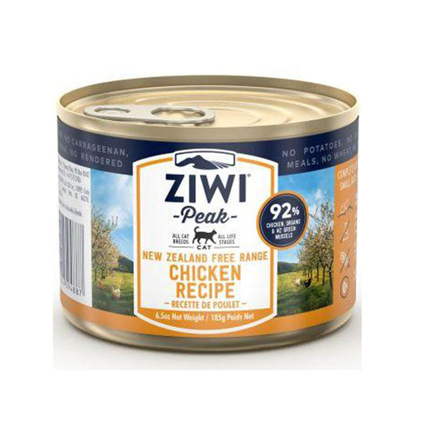 Ziwi Peak Cat Can -185g Chicken