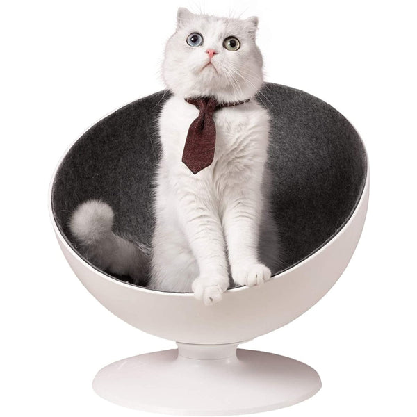 Furrytail Boss Cat Bed, Elevated Cat Chair
