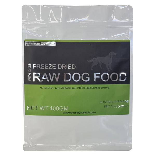 Freeze Dried Raw Food with Oats 400g