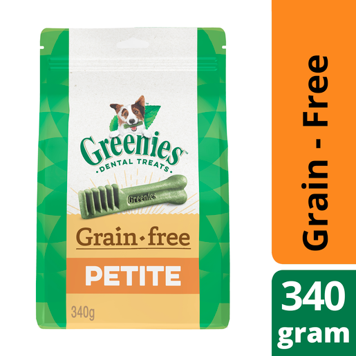 Greenies Grain Free Treat Pak Petite 340g