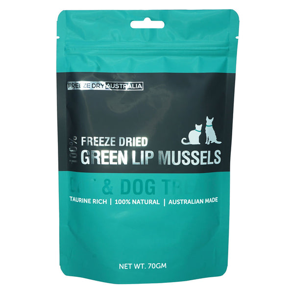 Freeze Dried Green Lip Mussels 70G