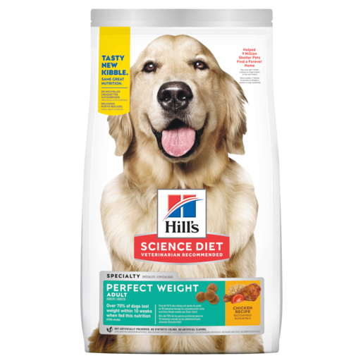 Hills Dog Adult Perfect Weight Small & Toy Breed 1.81kg (3821)