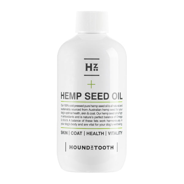 Hemp Seed Oil - For Optimal Health, Skin & Coat