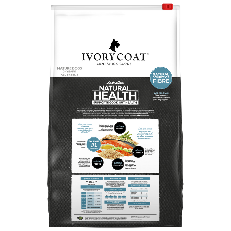 Ivory Coat Mature Ocean Fish & Brown Rice 18kg