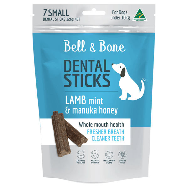 Lamb, Mint and Manuka Honey Dental Sticks