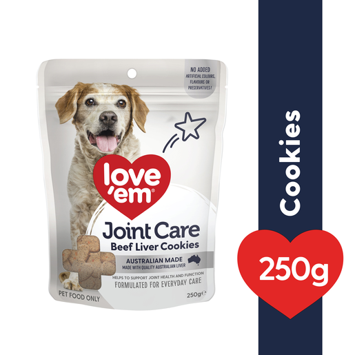 Love Em Beef Joint Care Cookie 5x250g