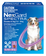 Nexgard Spectra For Dogs 15.1-30kg