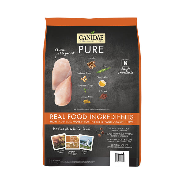 Canidae Dog Pure Ridge Chicken Lentil & Pea 1.81kg
