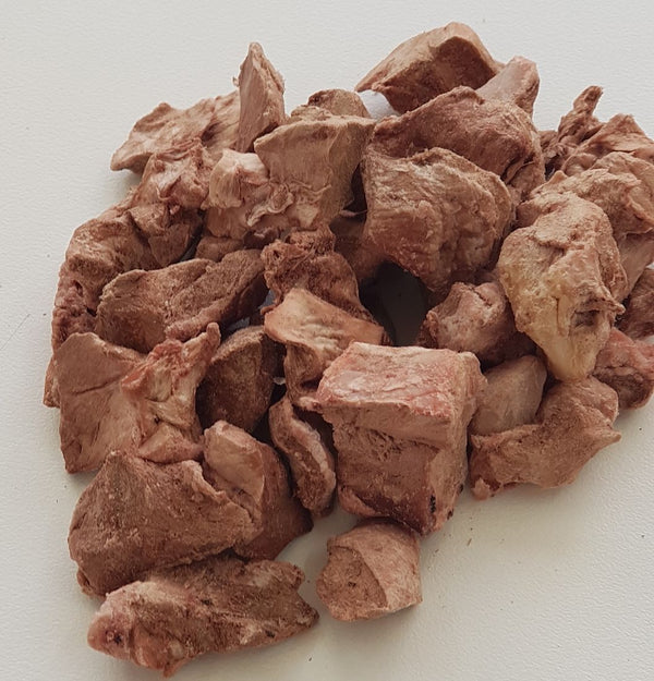 Freeze Dried Raw Lamb Hearts 100G