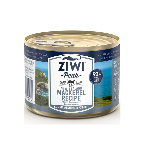 Ziwi Peak Cat Can - 185g Mackeral