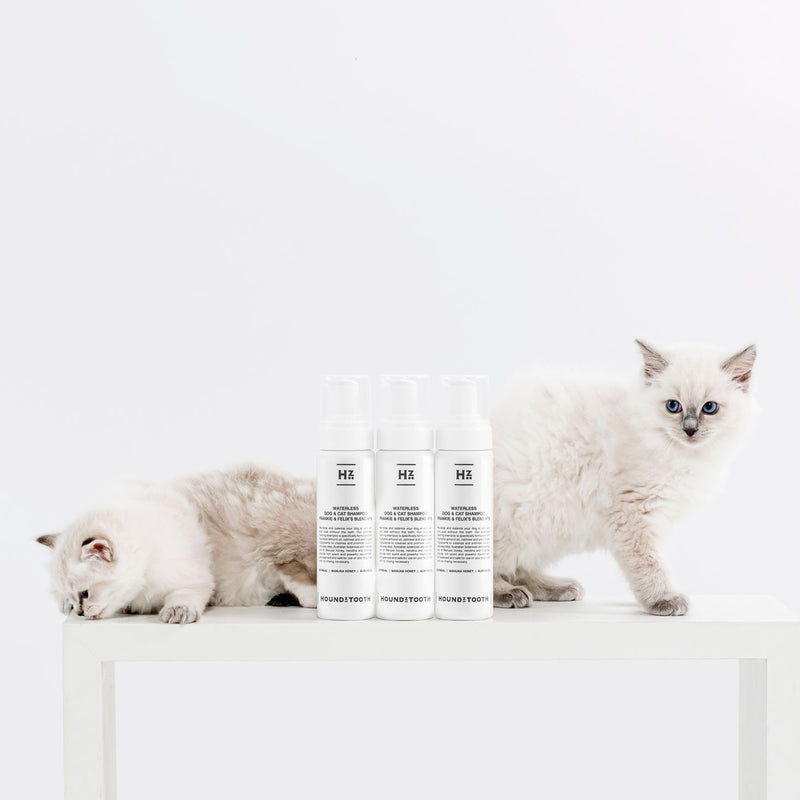 Frankie & Felix's Blend No.5 Waterless Shampoo for Cats & Dogs - Everyday Revitalise and Balance
