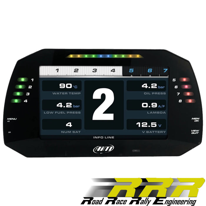 "AiM MXG 1.2 7"" TFT Dash Display Logger"