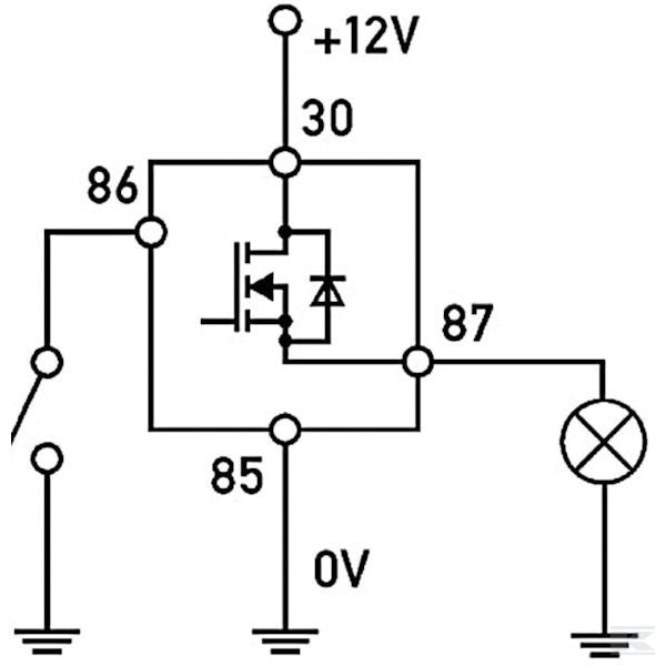 Solid State 12VDC 20A Relay