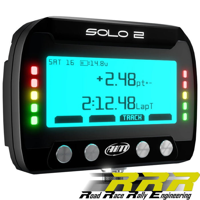 AiM Solo 2 GPS Track Day Racing Lap Timer
