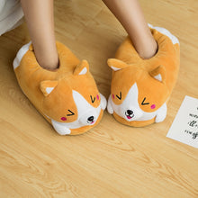 Load image into Gallery viewer, Dog Corgi Indoor Slippers - E4PetLife
