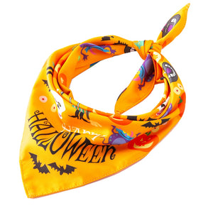 Halloween Pet Bandana Cotton Scarf - E4PetLife