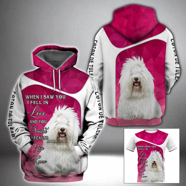 COTON DE TULEAR When I saw you 3D Full Printing