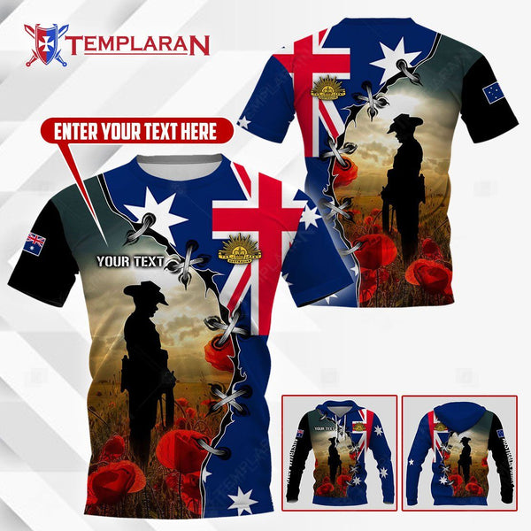 ANZAC DAY 3D Full Printing
