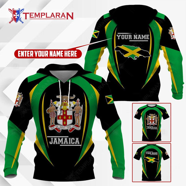 JAMAICA HOODIES AND T-SHIRTS 3D Full Printing