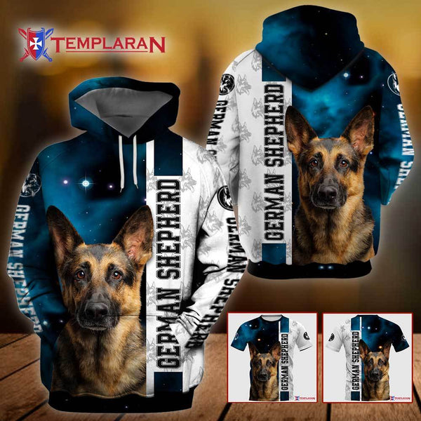 German Shepherd Dog 3D Full Printing