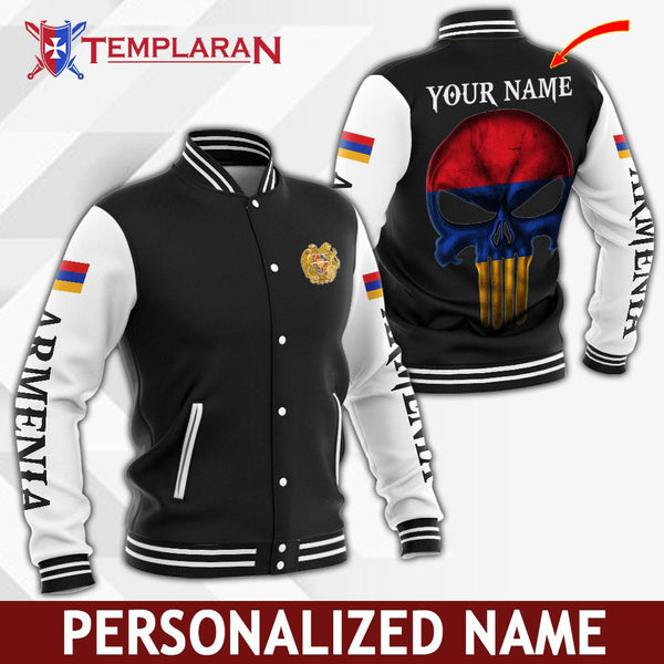 Personalized Name Armenia Jacket 3D Full Printing