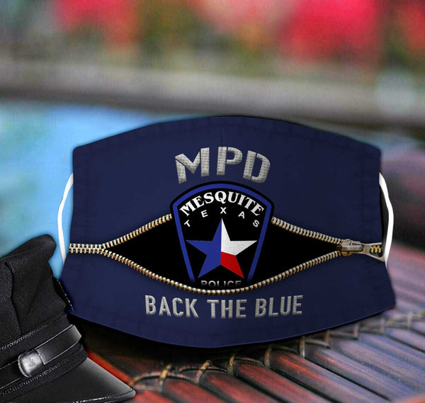 Mesquite Police Department  Face Mask TDH