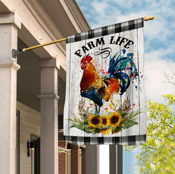 Chicken Flag 3D Full Printing